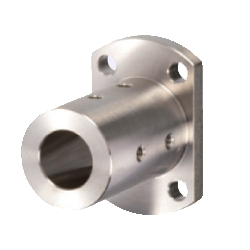 Shaft Supports - Flanged Mount, Long Sleeves with Dowel Hole