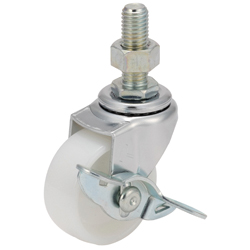 Long-Thread Swivel Caster (With Stopper) K-415EA