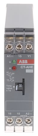 CT-AHE (Off Delay) Single Timer Relay