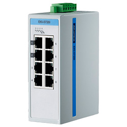 8-Port Gigabit Entry Managed Ethernet Switch For Industrial Use, Wide Temperature
