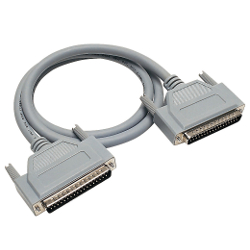 Cable connector option for digital input/output and analog converter cards.