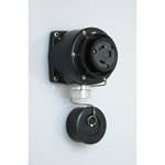 Waterproof Exposed Outlet - Hook Type 60 A