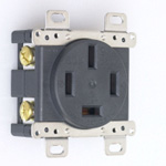 Flush Mount Outlet - Flat Blade Type