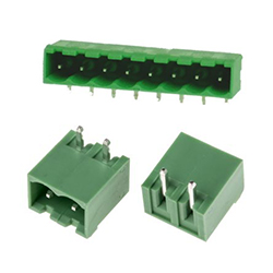 5.0mm Right Angle Mount Closed End PCB Terminal Block Headers