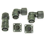 CM10 Series - (D) Type, Single Action Lock-Type, Compact, Waterproof Connectors