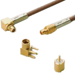 MMCX Series - Ultra Compact Coaxial Connectors