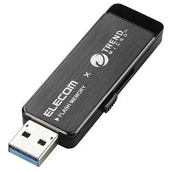 USB Memory / USB 3.0-Compatible / Trend Micro Anti-Virus Software Installed / 32 GB / Black