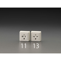 Square type socket-outlet with grounding EA940CJ-13