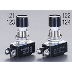 Small push button switch EA940DA-124