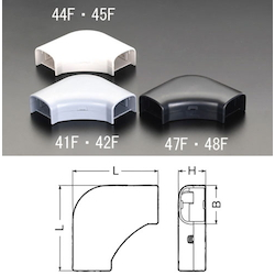 Corner [for Cable Cover Duct] EA947HM-44F