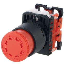 ø22 Series Emergency Stop Push Button Switch, AR22