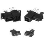 Rack and Panel Connector That Supports High-Speed Transmission: QR/P18 Series