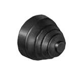 ø30 ARN Monolever Switch, Rubber Bellows