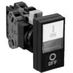 ø22 HW Series, 2-Point Push Button Switch