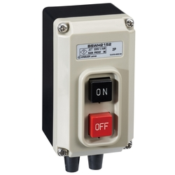 Push Button Power Switch, Rainproof Type, Popular Rainproofing, BSW Series