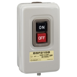 Push Button Power Switch, Exposed Type with Fuse Base, BS Series