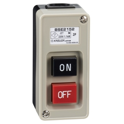 Power Pushbutton Switch Exposed Type Plastic Case BS Series