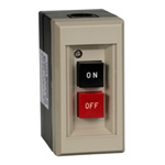 Exposed Type Pushbutton Power Switch (With Overload Circuit Breaker and No-Voltage Circuit Breaker)