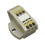 Clutch Lock Terminal Block, Compact Series (Assembly Type) TWM