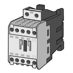Electromagnetic Contactor SD-T (Non-Reversible) DC Operation Type