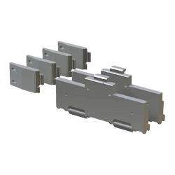 MELSEC-Q series DIN rail mounting adapter