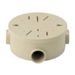Exposed Round Box (1 - 3-way compatible type)