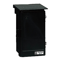 Wall Box (Plastic Rainproof Box), Vertical Type With Roof