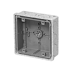 Recessed Square Outlet Box (With Heat Insulation Cover)