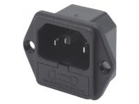 IEC Standard - Inlet with Fuse Holder (Screw) / C14