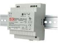 Switching Power Supply (DIN Rail-Mounting, Low-Profile, 24 VDC Output)