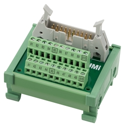 European Model Space-Saving Terminal Block