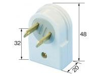 Extension Cord Parts - Rolling Tap (1-Port)