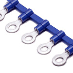 ICT Insulated Coating Chain Terminal, Round