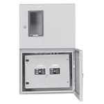 Outdoor lead-in meter panel/with terminal block