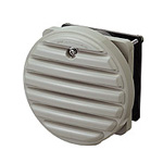 WLP-K, Round Waterproof Louver with Ventilation Fan, With Filter