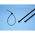 Heat resistant and weather resistant nylon 66 cable tie