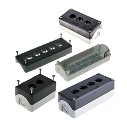 XAL Pushbutton Enclosures for Harmony 5, 22mm Switches