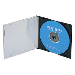 DVD and CD Case (space-saving type)
