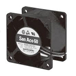 DC San Ace, DC fan 9G port, 60 x 38 thickness