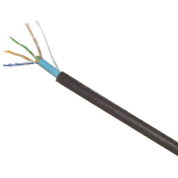 LAN cable Cat5e UTP (single line) for outdoor