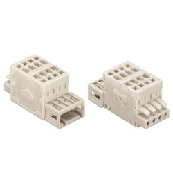 Spring Type Connector, 2-Line 734 Series Connector, 3.5 mm Pitch, Accepts Male and Female