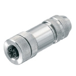 M12 Female (Socket) D-Cord Connector