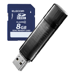 USB Memories / SD Cards / Memory Cards Image