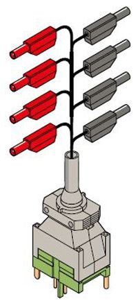 "Essailec Pre-Wired Plug Assemblies with IP20 Dia. 4mm (.157"") test plugs"