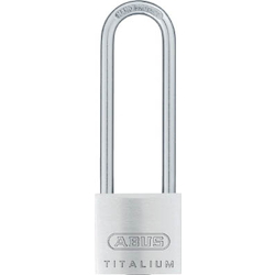 Lightweight Cylinder Padlock (Body Made Of Aluminum, Long Tool Type) Arbitrary No.