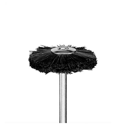 Wheel Brush (Black Bristle)