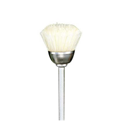 Cup Brush (White Bristle)
