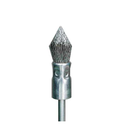 Pointed Shape Brush (Stainless Steel Wire)