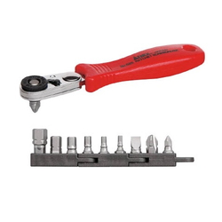 Compact bit, Ratchet 52 Ratchet Handle (Straight)