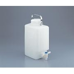 Large Square Bottle with Fluorine Treated Stopper